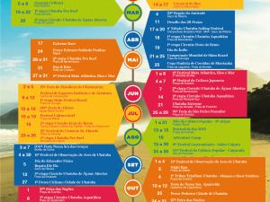 Calendário Turístico 2015