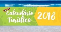 Calendário Turístico 2018 Atualizado