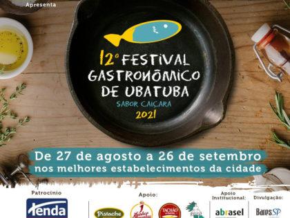 12º Festival Gastronômico de Ubatuba – Sabor Caiçara – 2021