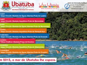 Provas aquáticas agitam as praias de Ubatuba.