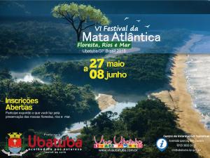 Inscrições abertas para o VI Festival da Mata Atlântica.