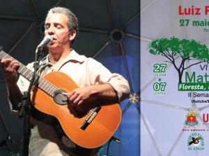 Show de Luis Perequê abre o VI Festival da Mata Atlântica em Ubatuba.