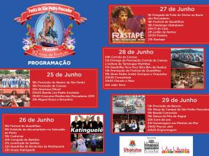FundArt e Prefeitura realizam a 92ª Festa de São Pedro Pescador.