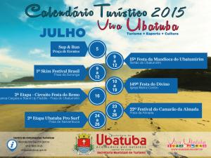Julho tem muita comida boa e esportes em Ubatuba.