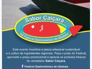 """VIII Festival Gastronômico de Ubatuba """"Sabor Caiçara"""" movimenta a gastronomia de Ubatuba"""