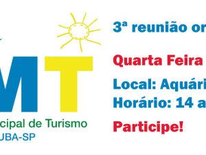 Conselho de Turismo se reune novamente nessa quarta 25 novembro