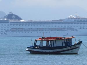 Ubatuba se prepara para a temporada de navios 2015/2016