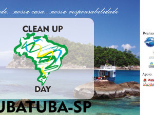 Clean Up Day em Ubatuba