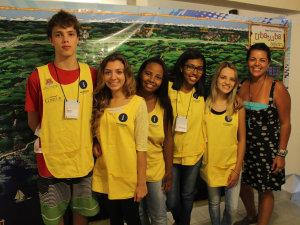 Estagiários da Setur organizam exposição sobre as 28 praias do Desafio