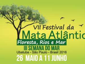 Faça parte da programação do VII Festival da Mata Atlântica e da III Semana do Mar