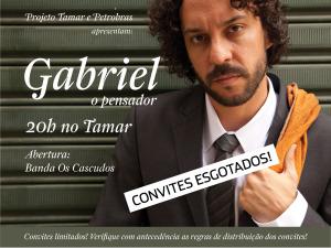 III Semana do Mar começa com apresentação de Gabriel o Pensadorno Casco Acústico do Tamar