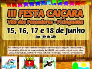 III FESTA CAIÇARA – VILA DOS PESCADORES – PICINGUABA