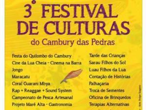 3º Festival de Culturas do Cambury