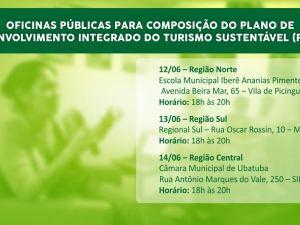 Setur solicita contribuição de munícipes ao Plano de Desenvolvimento do Turismo Sustentável