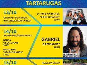 "Projeto ""Primavera das Tartarugas"" acontece no Tamar Ubatuba-SP"
