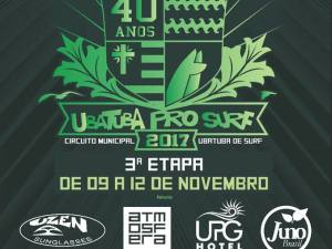 Etapa final do Ubatuba Pro Surf inicia na quinta-feira