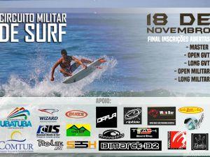 Circuito Militar de Surf acontece sábado em Ubatuba