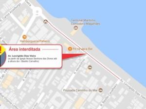 Tráfego de veículos será temporariamente suspenso em trecho da avenida Leovigildo Dias Vieira
