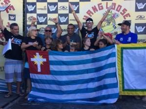 Ubatuba fica em primeiro lugar na classificação por cidades da primeira etapa do Hang Loose Surf Attack 2018