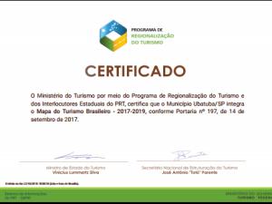 Ubatuba integra o Mapa do Turismo Brasileiro – 2017/2019