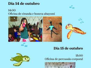 Semana da Criança no Projeto Tamar
