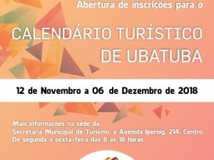 A Setur abre inscrições para a Seleção de Eventos que comporão o Calendário Turístico de Ubatuba