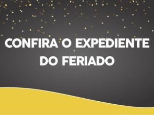 Prefeitura divulga expediente e programação do feriado de Ano Novo