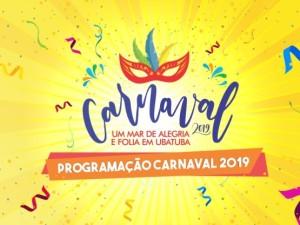 Prefeitura divulga programação do Carnaval 2019 em Ubatuba