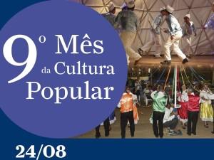 Encerramento do IX Mês da Cultura Popular no TAMAR de Ubatuba