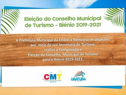 Eleição do Conselho Municipal de Turismo 2019/2021