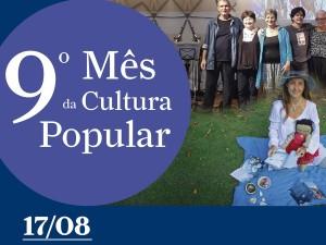 IX Mês da Cultura Popular apresenta: Contação de histórias e apresentação do Grupo Concertada