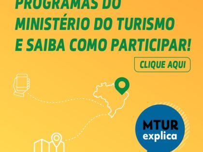 Programas do Ministério do Turismo