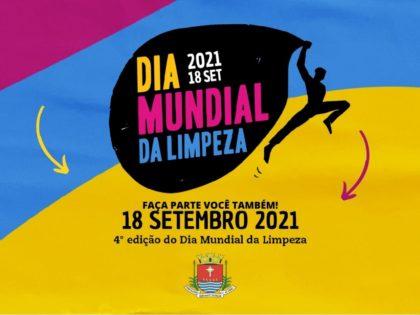 O DIA MUNDIAL DA LIMPEZA VEM AÍ! (CLEANUP DAY)